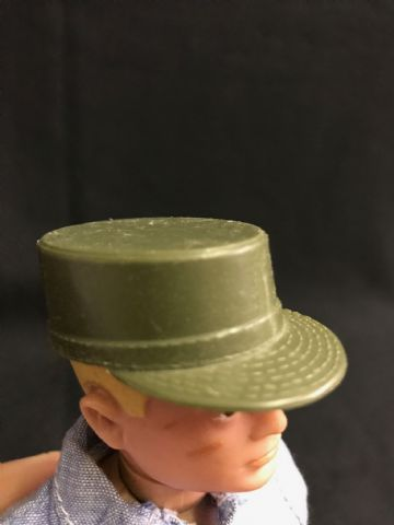 VINTAGE ACTION MAN - ACTION SOLDIER - Green Cap